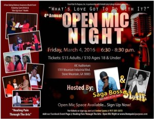 open mic night 2016